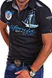 MT Styles Poloshirt CALFOR T-Shirt R-2371 [Dunkelgrau