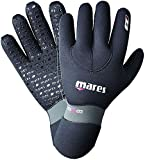 Mares Erwachsene Taucherhandschuhe Gloves FLEXA FIT 6.5 mm, Schwarz, S, 412717