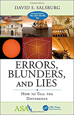 Errors, Blunders and Lies:: How to Tell the Difference