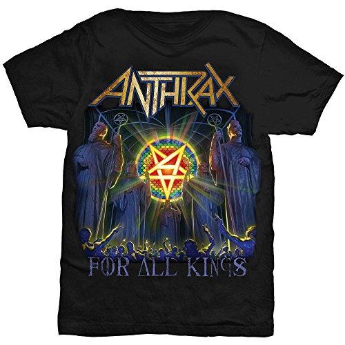 Rock -  T-shirt - Uomo Black Small