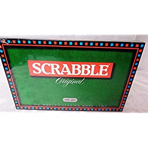 SCRABBLE. ORIGINAL 1988 BOARD GAME BY SPEARS GAMES by SPEAR