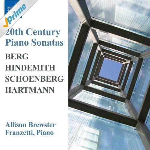 Berg / Hindemith / Hartmann: Piano Sonatas / Schoenberg: 3 Piano Pieces