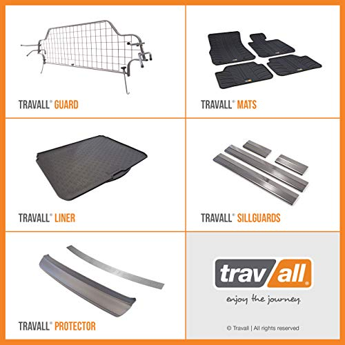 Travall® Guard Hundegitter TDG1223 – Maßgeschneidertes Trenngitter in Original Qualität - 6