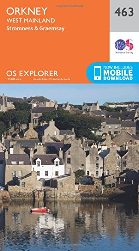 os-explorer-map-463-orkney-west-mainland