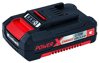 Einhell 4511340 - Batería Repuesto 18V 1,5Ah 30 min, 18 V, Negro, Rojo, 1.5 Ah