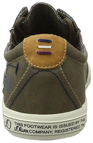 s.Oliver 13602, Sneakers Basses Homme Marron (Pepper)