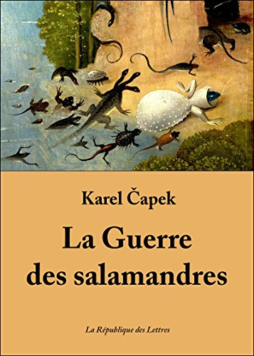La Guerre Des Salamandres [Pdf/ePub] eBook