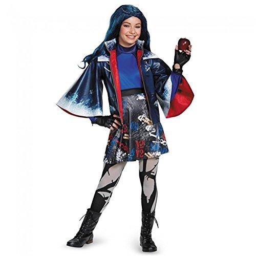 Disguise Evie Prestige Descendants Disney Costume, Large/10-12 by Disguise (Evie Kostüm Disney)