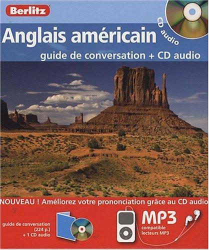Anglais américain Coffret guide de conversation + CD audio