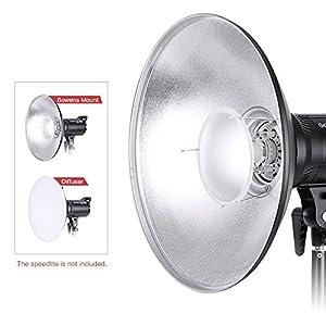 Andoer-41-cm-Beauty-Dish-Reflektor-Strobe-Beleuchtung-fr-Bowens-Berg-Blitzfotografie-Light-Studio-Zubehr