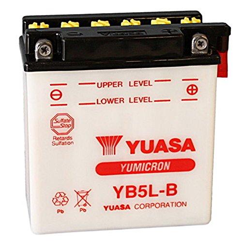 Batteria standard Yuasa YB5L-B 12 V 5 Ah 60 CCA acido non incluso
