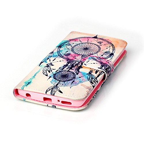 Voguecase® für Apple Iphone SE hülle ,Kunstleder Tasche PU Schutzhülle Tasche Leder Brieftasche Hülle Case Cover (Pflaumen/Hirsch) + Gratis Universal Eingabestift Strohhut