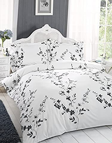 Great Knot Henley Duvet Cover Set, Double, Black