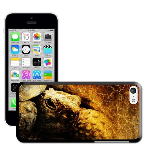 Fancy A Snuggle 'Green Sea Turtle' Hard Case Clip On Back Cover für Apple iPhone 5 C Grunge Turtle Image