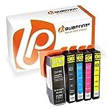 Bubprint 5 Druckerpatronen kompatibel für Epson 26XL T2621-T2634 für Expression Premium XP-510 XP-520 XP-610 XP-620 XP-700 XP-720 XP-800 XP-810 XP-820