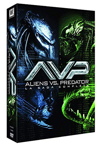 Alien vs. Predator - Complete Saga - 4-DVD Box Set ( AVP: Alien vs. Predator / AVPR: Aliens vs Predator - Requiem ) [ Spanische Import ]