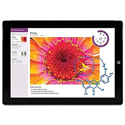 Microsoft Surface 3 Tablet PC (10.8 Zoll (27,43cm) ClearType Full-HD-Plus Display, Intel Atom X7-Z8700 Quad-Core, 64GB Speicher, 2GB RAM, Windows 8.1) Bundle inklusive Type Cover 2 und Surface Mouse