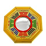 Feng Shui Bagua konvexe Spiegel Pakua W, mit rotem mxsabrina Armband SKU: j2346