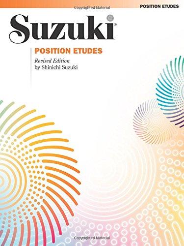 Position Etudes: Violin (Suzuki Violin School)