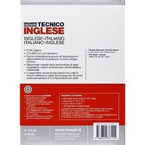 Grande dizionario tecnico inglese. Inglese-italian