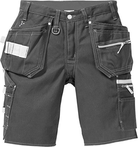 Fristad Kansas - Shorts 2102 CYD Sz 31.5/80 Reg Dark Grey 116701-941 C46 (Short Schräge)