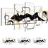 Bilder 200 x 100 cm - Abstrakt Bild - Vlies Leinwand - Kunstdrucke -Wandbild - XXL Format - mehrere Farben und Größen im Shop - Fertig Aufgespannt !!! 100% MADE IN GERMANY !!! - Frau Erotisch 300251a