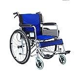 T-Rollstühle Faltung Rollstuhl, Old People's Schubkarre, Portable, Behinderten-, Multi-Funktions-Old-Age-Roller