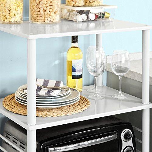 Sobuy forno a microonde mensole carrello da cucina for Mensole stile provenzale