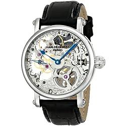Charles Hubert, Paris 3887-B - Reloj de Pulsera Hombre, Color Negro