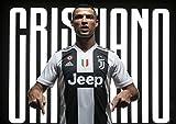Poster Cristiano Ronaldo Juventus Hier Stars World Legend Italien - die alte Dame