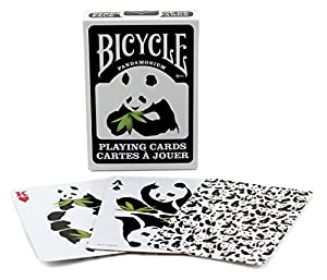 Bicycle PANDAMONIUM Panda Deck of Playing Cards