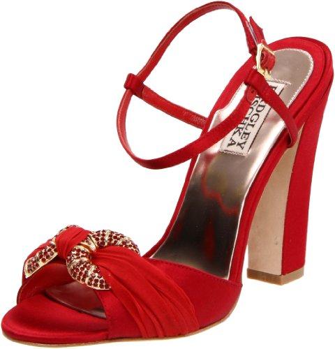 badgley-mischka-jeweled-sandalias-de-vestir-de-lona-para-mujer-rojo-rojo-color-rojo-talla-36