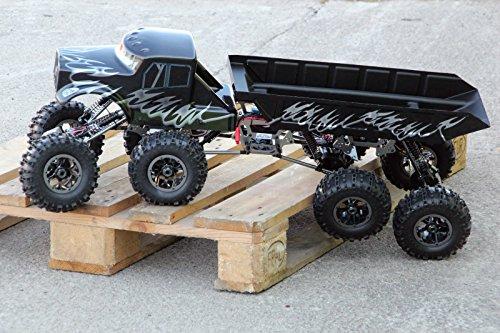 XTC RC 8WD 8x8 ALUMINIUM MONSTER CRAWLER TRUCK 1:8 RTR 2,4GHz 4x4 4WD AKKUPACK
