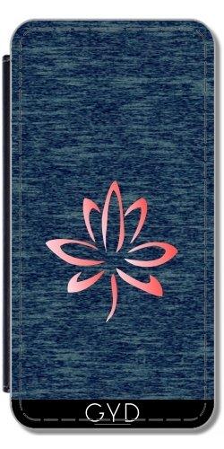 Coque pour Iphone 4/4S - Fleur De Lotus by hera56 Simili-Cuir