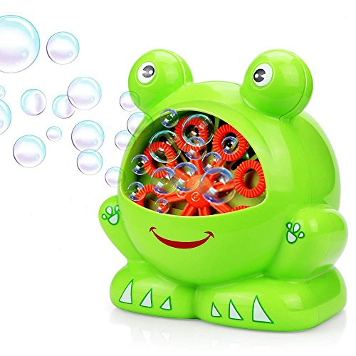 CNMF Blasen-Maschine, Tragbare Blasen-Schlagmaschine, batteriebetrieben, Nette Form, Hoher Ausgabeblasen-Gebläse für Innen-/Gebrauch im Freien, Ideales Geburtstags-Geschenk für Kinder