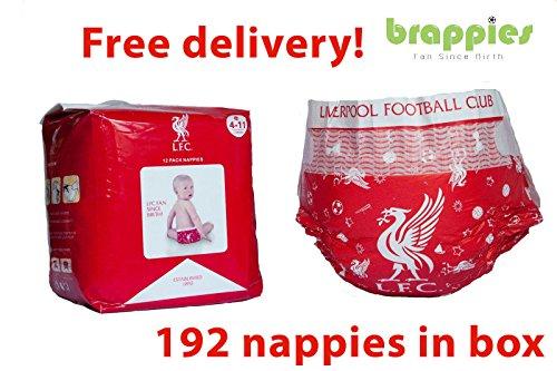 672d0fa3adcd2 Officiel Liverpool FC bébé couches Taille 4–9 kgs