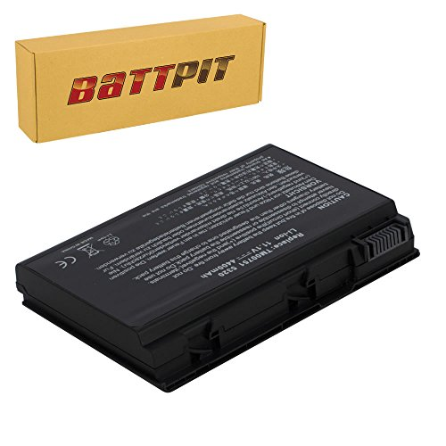Battpit Batteria per Portatile Acer GRAPE32 CONIS71 TravelMate 5320 5520 5720 5730 6592 7720 Extensa 5230 5620 5620Z 5630 5630Z 5630EZ - [6 Celle/4400mAh/49Wh]