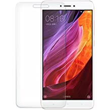 [2-Unidades] Xiaomi Red Mi Note 4 Protector de Pantalla,EUGO Cristal Vidrio Templado Premium [9H Dureza][3D Touch][Alta Definicion] Anti-Explosion/HD-display/Anti-water,oil and fingerprints.
