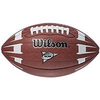 Wilson NCAA Junior Hypergrip Arrow - Balón de fútbol, color marrón