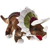"DINOSAUR ANIMAL PLANET - Peluche Dinosaurio ""Triceratops"" 6""/16cm - Calidad Super Soft"