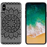 yayago Schutzhülle für Apple iPhone X Tasche iPhone X Hülle Ornament Motiv Tribal Tattoo Transparent