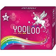 YOOLOO Unicorn – El divertido juego de cartas para niños, padres y amigos de los