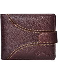 Brown Men Genuine Leather Wallet Only For Men