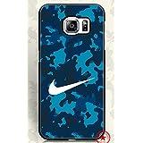 WoodCaseStory(TM) Samsung Galaxy S6 Edge Plus Funda Trendy Design for Nike Brand Logo Samsung Galaxy S6 Edge Plus Funda Protector Funda Cover