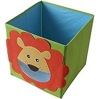 Preisvergleich für TE-Trend Faltbox Spielbox Tiermotiv Aufbewahrung Spielzeug Spielzimmer