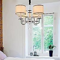 OOFAY luce moderna cristallo di ferro lussuoso lampadario con 4 luce