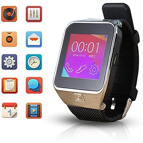 Flylinktech® M9Smart Orologio Supporto SIM Card per 1,5pollici Bluetooth orologio