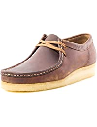 Clarks Originals Mens Wallabee Leather Shoes