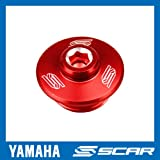 BOUCHON VIS CARTER HUILE YAMAHA YZ YZF YZ-F WR WRF KLX 85 125 250 450 YZ250F ROUGE SCAR