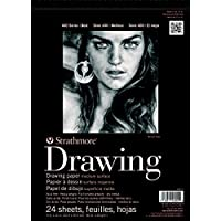 Pro-Art Strathmore Medium Drawing Spiral Paper Pad 14 x 17-inch, 24 Sheets